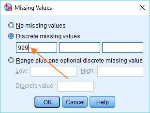 Missing Values SPSS