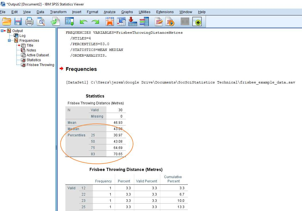 How to Calculate Percentiles in SPSS - Quick SPSS Tutorial
